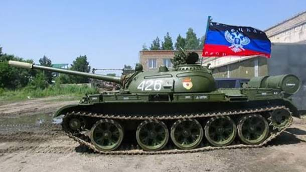 "Тяжелое вооружение террористов ""ДНР"""