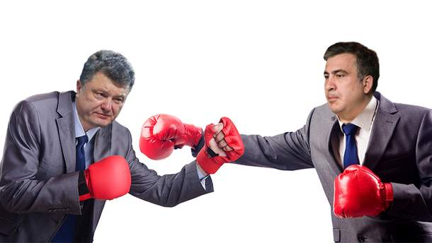 """Почему Порошенко панически боится """"друга Михо""""?"""