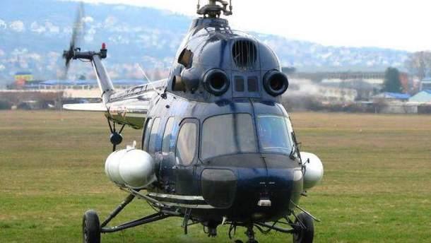 Падіння російського вертольота біля берегів Норвегії