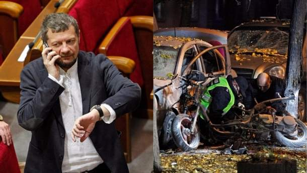 Замах на Мосійчука: в Росії вимагають доказів своєї причетності до інциденту