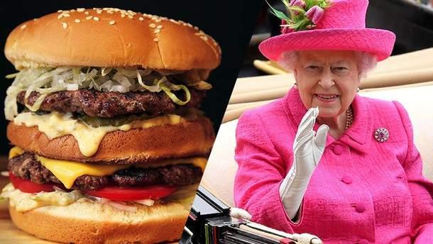 Королева  Елизавета обладает филиалом McDonald's