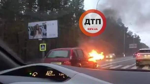 Аварія у Конча-Заспі