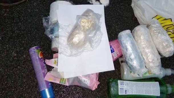 Россиянина с наркотиками задержали на Киевщине