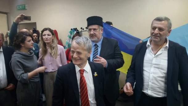 Встреча Ахтема Чийгоза и Ильми Умерова в Киеве