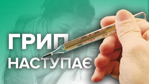 Грип в Україні: симптоми та профілактика в інфографіці