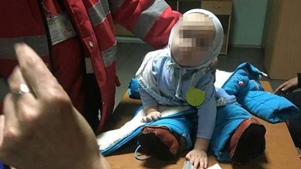 9-місячний малюк, якого на вокзалі покинула мама