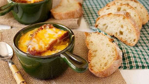 Рецепт французского лукового супа