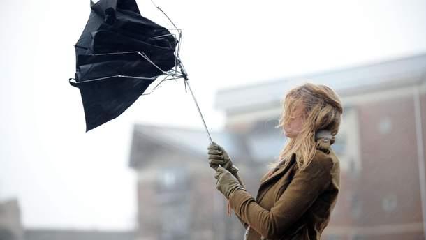В Україні вируватиме сильний вітер