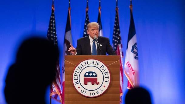 Члени республіканської партії не підуть проти Трампа