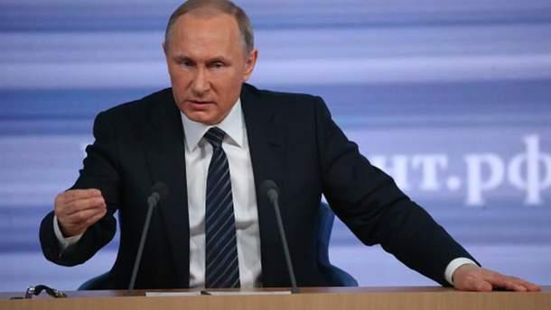 Путін боїться санкцій