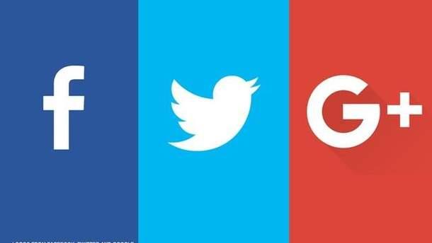 Руководители Facebook, Twitter и Google дадут показания по делу о вмешательстве России в выборы США