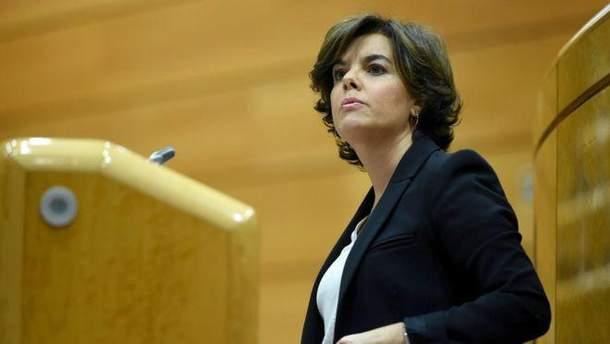 Сорайя Саенс де Сантамария стала главой Каталонии