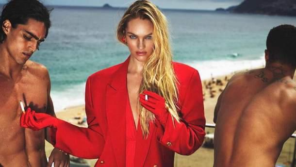 Кэндис Свэйнпоул для Vogue Brasil