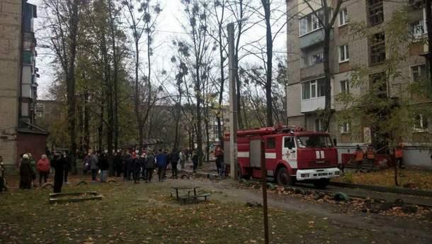 Взрыв газа произошел на Московском проспекте в Харькове