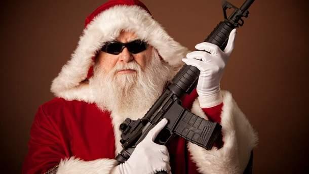 В США мужчина в костюме Санты расстрелял людей на вечеринке