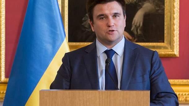 Клімкін відкидає паралелі між подіями на Донбасі та в Каталонії