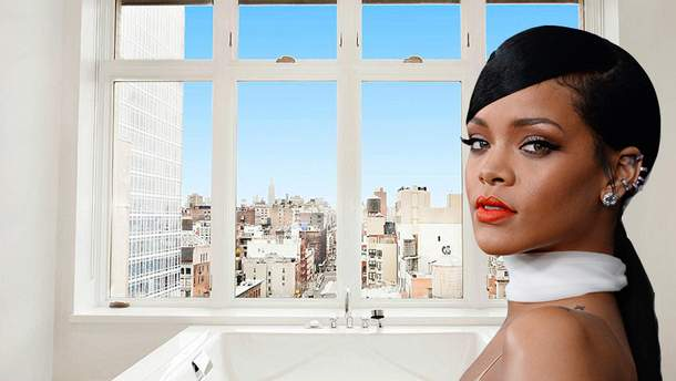 Ріанна покидає орендований пентхаус в Нью-Йорку: розкішні фото