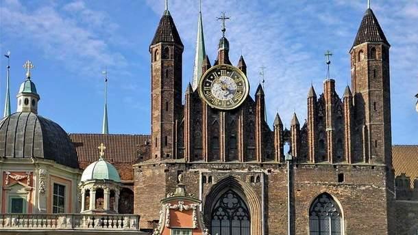 Мариацкая базилика в Гданьске