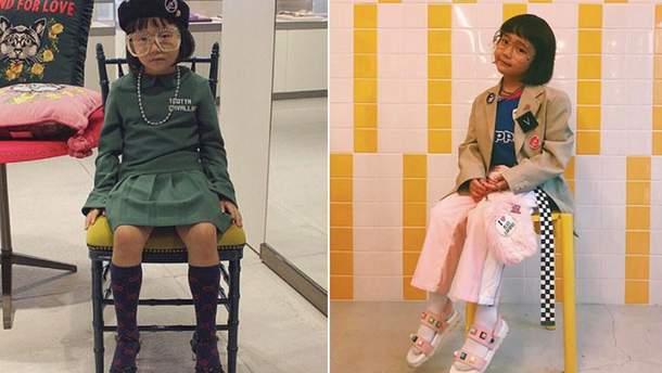 6-річна модниця Коко