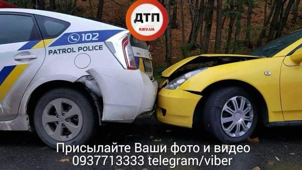 Аварія з поліцією
