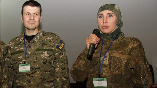 Аміна Окуєва та її чоловік Адам Осмаєв