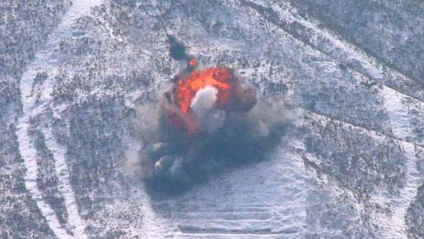 Обвал на ядерному полігоні КНДР