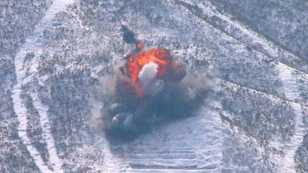 Обвал на ядерном полигоне КНДР