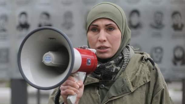 Аміна Окуєва була вбита під Києвом ввечері 30 жовтня