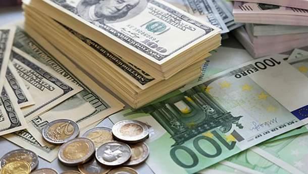 Готівковий курс валют 1 листопада в Україні
