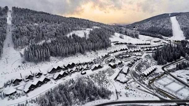 В Карпатах уже насыпало более метра снега