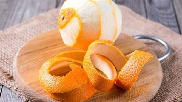 5 дуже корисних властивостей апельсинової шкірки