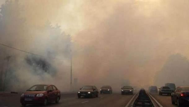 Рівень забруднення повітря рекордно зріс