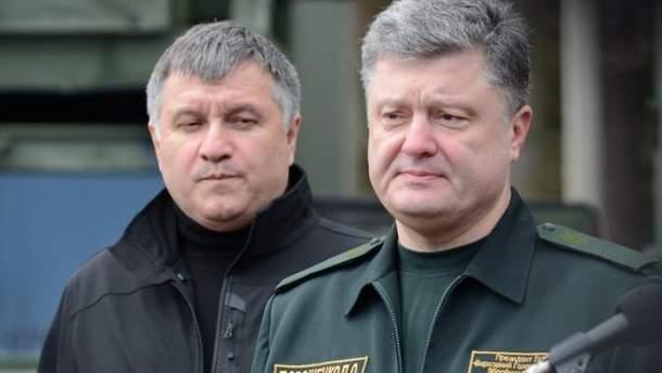 Аваков рассказал об отношениях с Порошенко