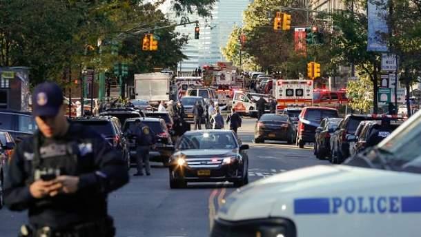 Внаслідок наїзду у Нью-Йорку загинуло 8 осіб, ще 13 були поранені