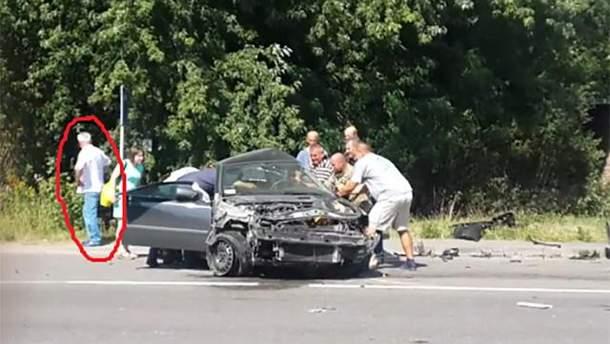 ДТП с участием авто Дыминского