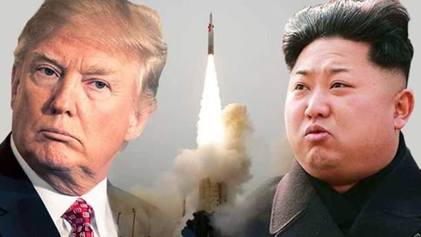 Запуск ракети КНДР може відбутись під час поїздки Трампа