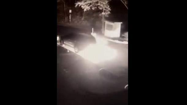 Росіянин спалив машину українського нардепа
