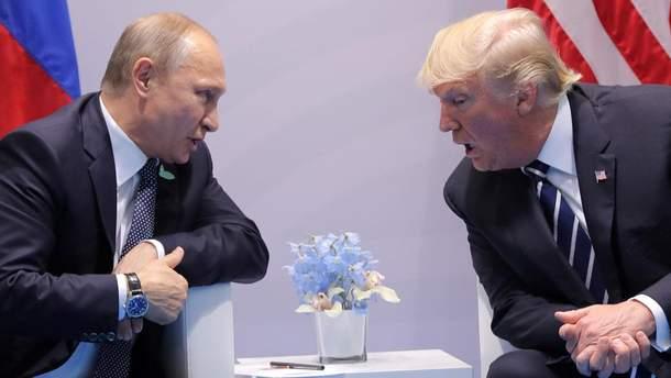 Зустріч Трампа та Путіна