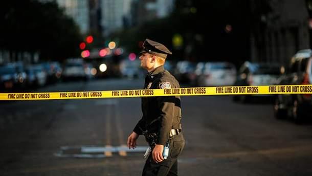 Місце теракту у Нью-Йорку