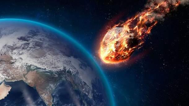 Астероїд є причиною вимирання динозаврів