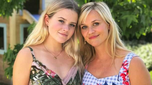 Риз Уизерспун и ее дочь – 18-летняя Ава Филипп