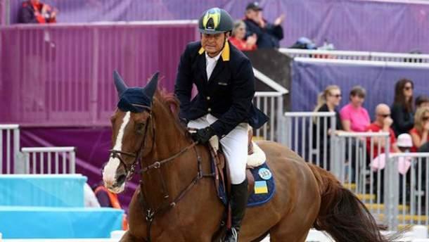 Втікач Олександр Онищенко впав з коня