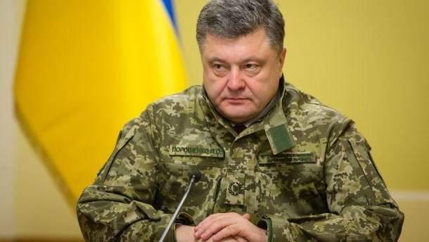 Порошенко повністю прибрав до рук оборонну галузь України