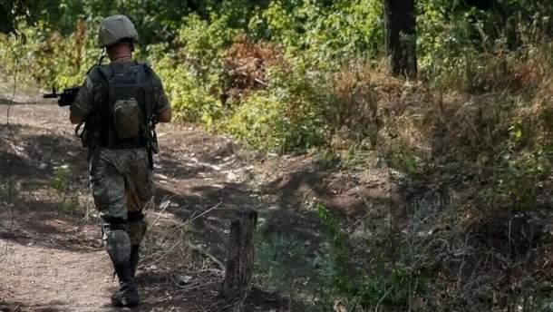 Военнслужащего-дезертира задержали на Луганщине