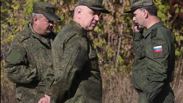 Російські військові на окупованому Донбасі
