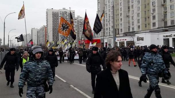 Марш в России