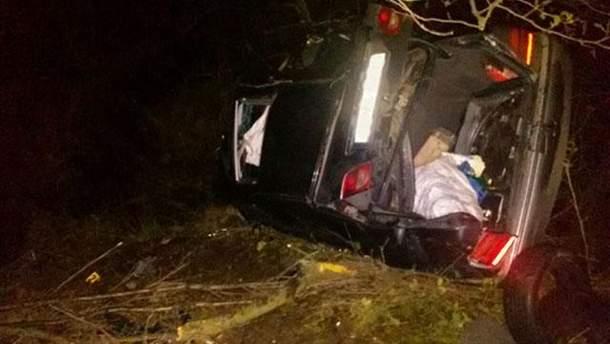 На Ровенщине в ДТП погибли мать с ребенком