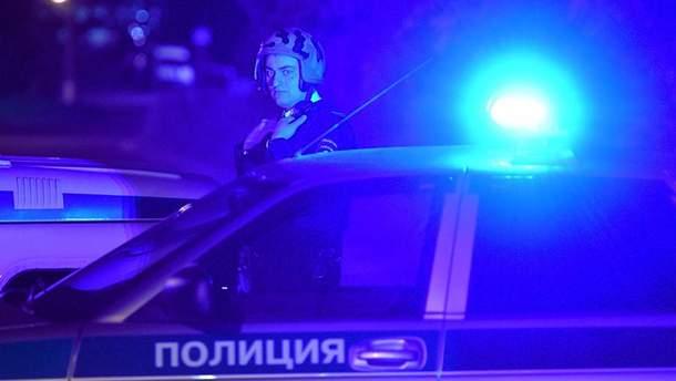 Появилось видео вооруженного нападения на пост полиции в России