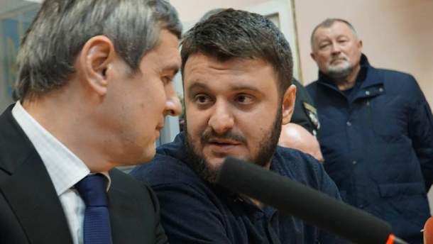 Олександр Аваков в залі суду