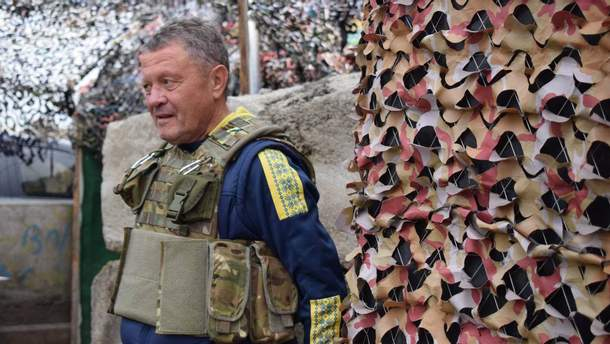 Мирон Маркевич у зоні АТО